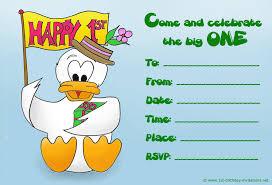 best first birthday invites printable sample templates source birthdaypartyideasforkids com donal duck first birthday invites printable