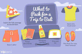 Packing For Vacation Lists Bali Packing List What You Should Bring To Bali