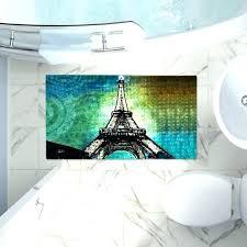paris bathroom rugs bath rug decorative bathroom mats tower night bath rug set paris themed bathroom