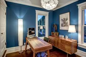 office wall color. Contemporary Wall Home Office Blue Wall Color Intended T