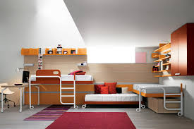 Cool Bedrooms With Bunk Beds Bedroom Awesome Wood Bunk Beds With Teen Boys Beds Teen Room