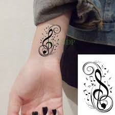 Us 049 Waterproof Temporary Tattoo Sticker English Letters
