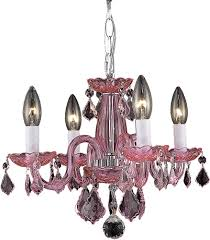 nice pink mini chandelier 15 elegant v7804d15pk ro rc rococo lighting 5