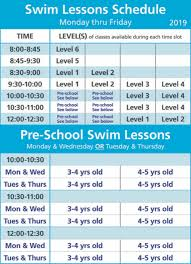 Red Cross Swim Lessons Cohasset Swim Center