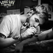 сергей Kartoha новые работы тату салон в москве Love Life
