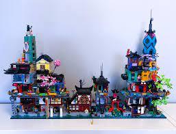 Added Ninjago City Gardens: lego