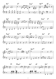 Music Spreadsheet Fly Me To The Moon Sheet Music For Piano Download Free In