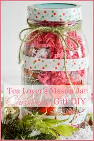 Ideas For Decorating Mason Jars For Christmas TEA LOVER'S MASON JAR CHRISTMAS GIFT IDEA DIY 63