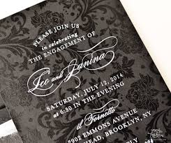 Black And White Invitation Paper Stationery 101 Printing White Ink On Dark Paper Sincerely