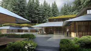 Japanese Garden Structures Kengo Kumas Expansion Of Portland Japanese Garden Set To Open In