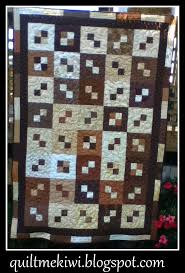 quiltmekiwi: quilting, Christmas, fungi & doll making ... & Next up is Norma's four patch autumn quilt. Made for her son living in  Australia. Once again another for an all over design, this time a jumbo  stipple, ... Adamdwight.com