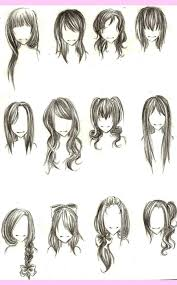 anime hairstyles for girls sketch. Anime Hairstyles For Girls Sketch Hd Images HD Wallpapers Throughout