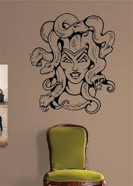 Small Picture Medusa Tattoo Design Decal Sticker Wall Vinyl Decor Art Medusa