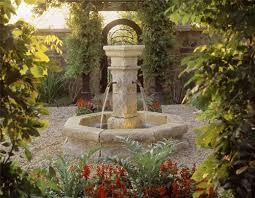 outdoor garden fountain. Outdoor Fountain Garden O
