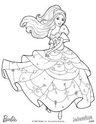 Coloriage Princesse Barbie En Ligne L