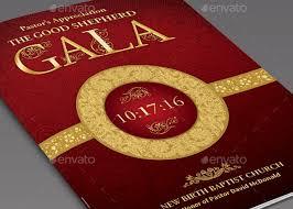 Booklet Program Template Event Program Booklet Template 4408
