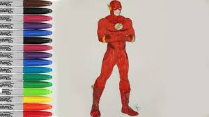 Small Picture The Flash Coloring Pages The Flash Justice League Fun Pages