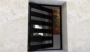 doors interesting metal for marvellous in contemporary front plan 11