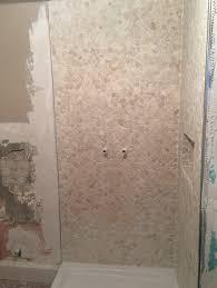 Badezimmer Dusche Mosaik Fliesen Malermeister Painter Pintor