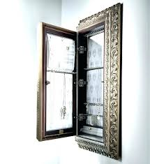 wall jewelry armoire mirror ed jewelry armoire mirror wall mount door hanging jewelry cabinet organizer