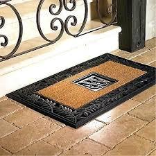 front door rug what size should front door rug be
