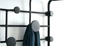 Black Coat Rack Wall Mounted Unique Black Coat Rack Hooks Armistead