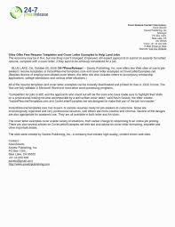Press Release Format 2020 General Job Resume Objective 2019 General Job Resume Format