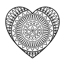 Small Picture Heart Shape Coloring Page Download Eye Coloring Page With Heart