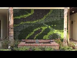 bright green living wall planter you