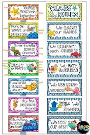 Preschool Class Rules Chart Behavior Management Class Rules Clip Chart More Editable