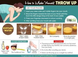 does throwing up help you lose weight