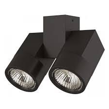Потолочный <b>светильник Lightstar</b> Illumo X2 Nero <b>051037</b> ...