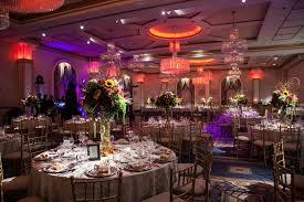 Wedding Ballroom Lighting The Grand Ballroom With Different Led Lighting Colors At A