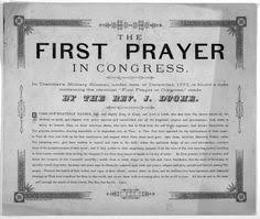 Image result for first prayer in parliament washington and adames