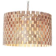 sugar drum chandelier