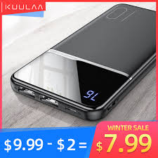 <b>KUULAA Power Bank</b> 10000mAh Portable Charging PowerBank ...