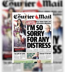 Tabloid newspapers, durban north, south africa. Aussie Tabloid Claims Catriona Gray Calls Her Miss Queensland