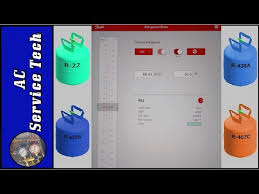 How To Use The Free Refrigerant Slider P T App R 22 Retrofit Comparisons