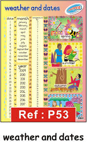 Date Chart For Classroom