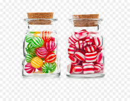 candy cane candy corn jar glass loaded candy jars