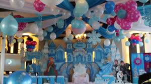 Princess Balloon Decoration 1st Birthday Princess Balloon Decoration Idea Youtube