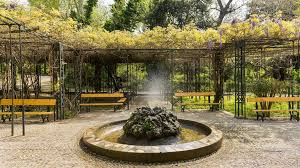fountain in the national garden in athens global booking