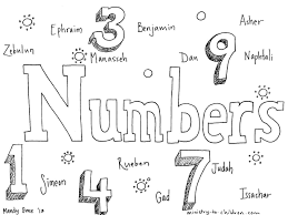 All the coloring pages of this category is placed at different pages. Book Of Numbers Bible Coloring Page For Children
