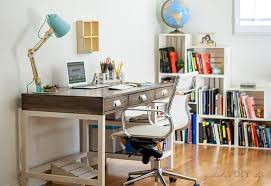 Stylish office Simple Diy Desk And Office Makeover Step By Step Tutorial And Plans To Make Diy Anikas Diy Life 19 Stylish Office Chairs That Are Comfortable And Affordable