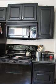 Kitchens With Black Appliances Dark Kitchen Cabinets Black Appliances Quicuacom