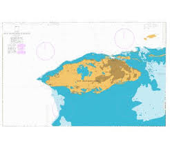 New Providence Island Marine Chart Cb_gb_1489_0