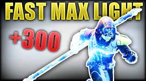 Destiny 2 How To Get Max Light Fast