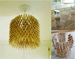 absolutely make a chandelier how to clothes pin do it yourself fun idea clothespin 2 from scratch in minecraft kit with christma light wine bottle lamp