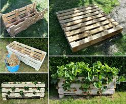 view in gallery strawberry planter made from pallet