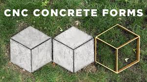 Making Cement Forms Cnc Concrete Forms How To Make Your Own Walkmaker Youtube